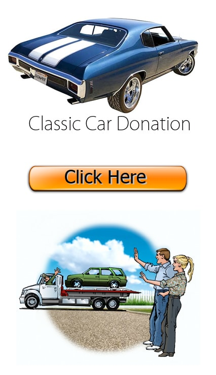 Classic Car Donation California