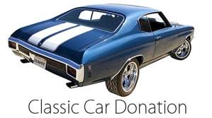 Classic Car Donations